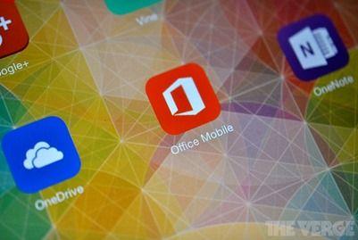 Microsoft Office для iPad: презентация в конце этого месяца
