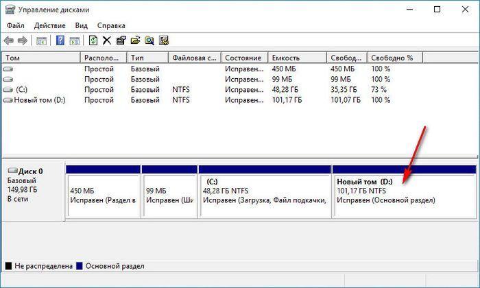 Увеличение места на диске виртуальной машины Hyper-V