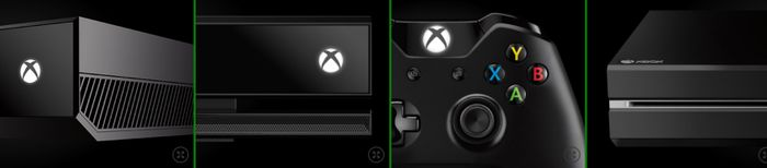 Приборная панель Xbox One на видео