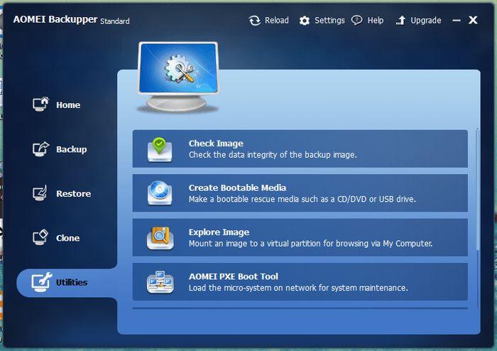 AOMEI Backupper Standard обновился до версии 2.5