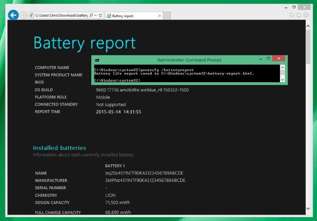 PowerCfg: подробно о батарее и энергоэффективности вашего мобильного компьютера