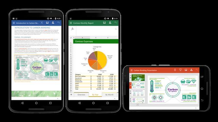 74 компании устанавливают приложения Microsoft на свои смартфоны и планшеты с Android