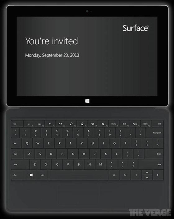 Характеристики Surface 2 и дата официальной презентации