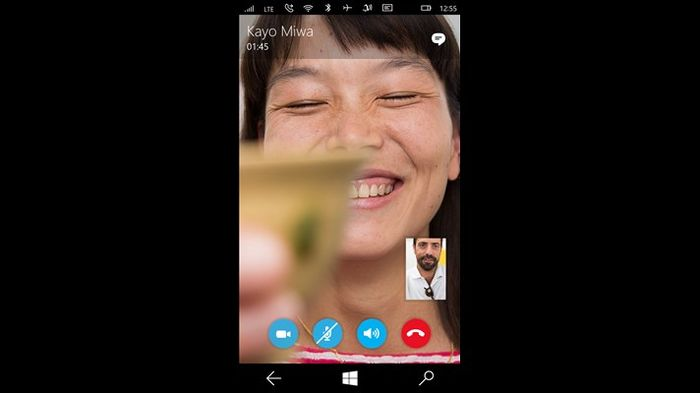 Новое приложение Messaging с интеграцией Skype стало доступно для Windows 10 Mobile