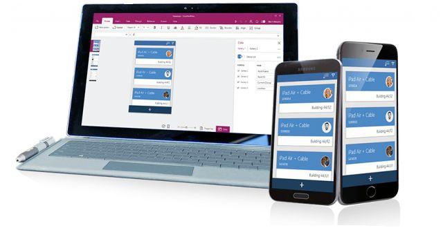 Microsoft представила PowerApps, новый инструмент для создания корпоративных приложений