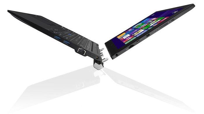 Toshiba Portege Z20t – новый гибрид планшета и ноутбука с процессором Intel Core M