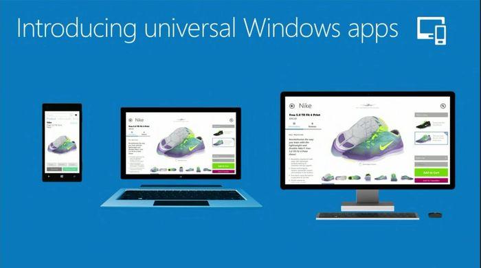 Microsoft представила универсальные приложения. Windows и Windows Phone становятся ближе