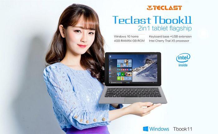 Teclast Tbook: открыт предзаказ на первые модели новой серии планшетных ПК с Windows 10