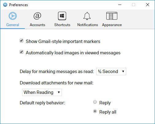 N1 – легкий кроссплатформенный почтовый клиент от Nylas