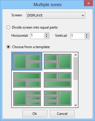 Expi Desktop Manager – создавайте собственные зоны для позиционирования окон на экране