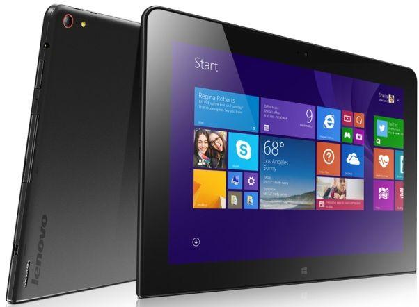 Lenovo представила премиум бизнес-планшет ThinkPad 10