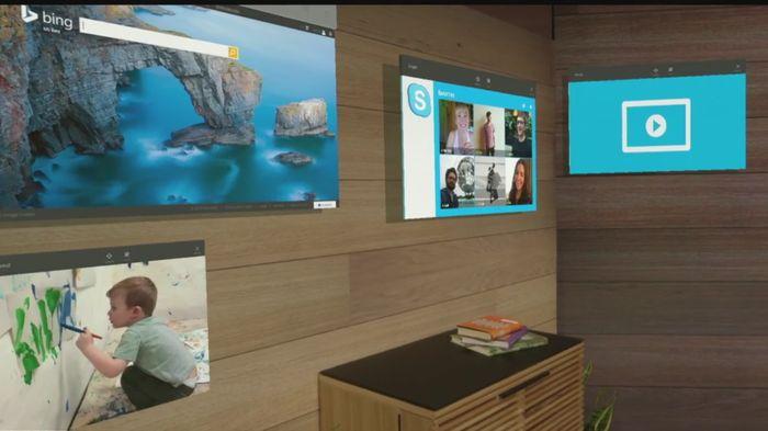 HoloLens: новости и демо первого голографического компьютера