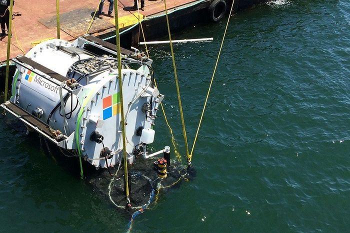 Microsoft тестирует подводные центры обработки данных