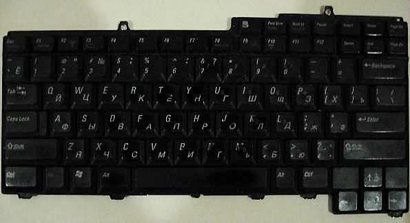 Как быстро отремонтировать клавиатуру DELL Inspiron 6400 своими руками