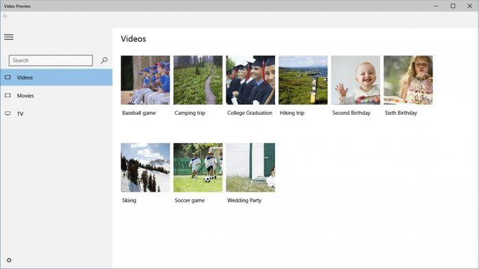 Microsoft выпустила новые приложения Music и Video для Windows 10