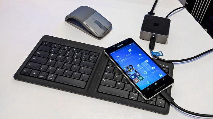 Разработка Continuum для смартфонов была начата три года назад