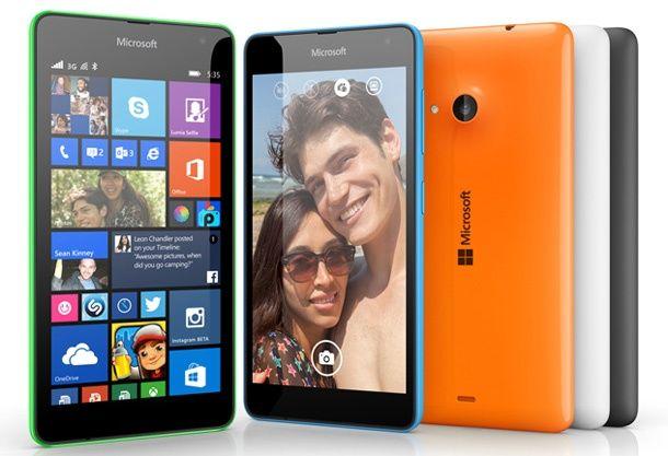 Lumia 535 – первый смартфон в серии с брендом Microsoft