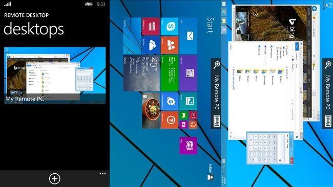 Microsoft выпустила приложение Remote Desktop для Windows Phone 8.1