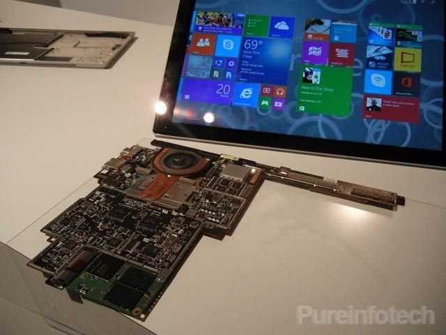 Surface Pro 3 изнутри