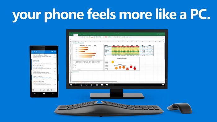 Для редактирования документов Office с Continuum для смартфонов будет нужна подписка на Office 365