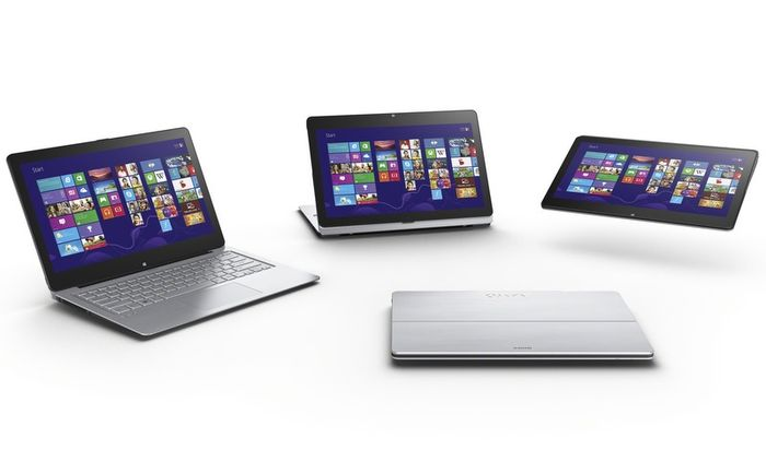 Ноутбуки Sony VAIO Flip PC с подвижным экраном