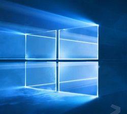 Microsoft показала фоновое изображение по умолчанию в Windows 10