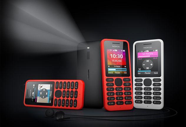 Microsoft выпустит телефон Nokia 130 по цене 19 евро