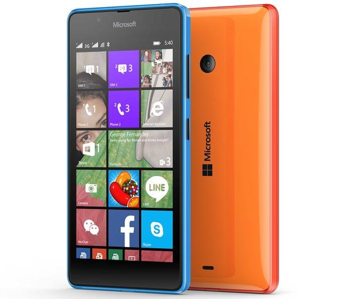 Microsoft представила Lumia 540 Dual SIM – смартфон за 150 долларов