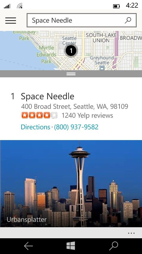 Microsoft поведала о приложении Maps в Windows 10