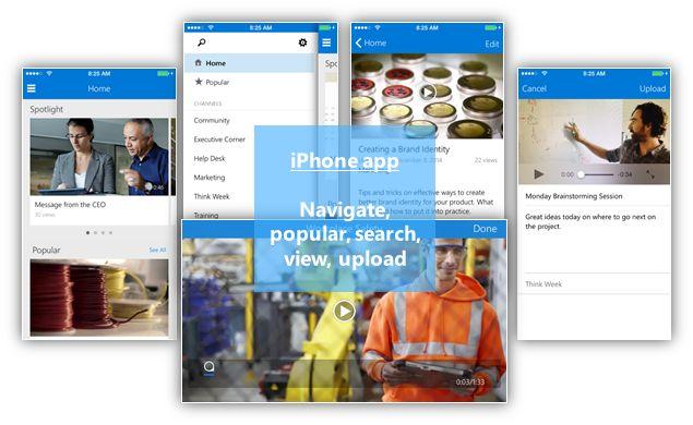 Microsoft представила Office 365 Video для бизнес-клиентов