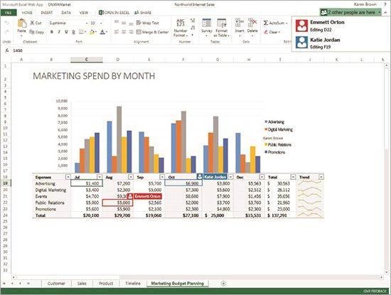 Microsoft Office Web Apps становится все ближе к возможностям Google Docs