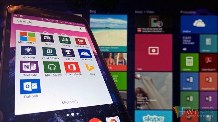 LG, Sony и многие другие установят приложения от Microsoft в свои Android-планшеты
