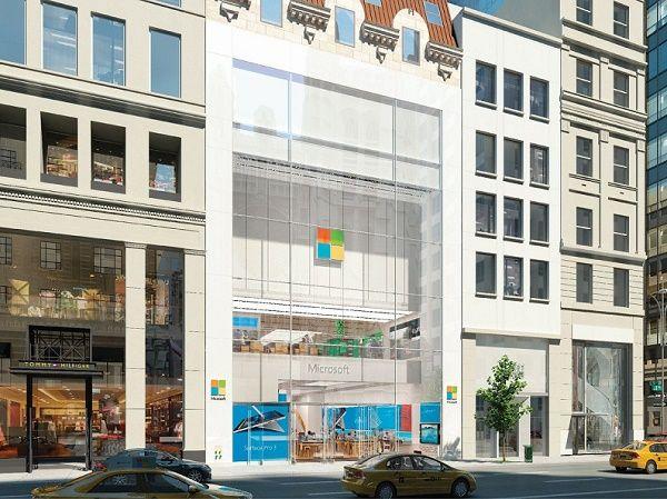 Microsoft откроет флагманский магазин в Нью-Йорке 26 октября
