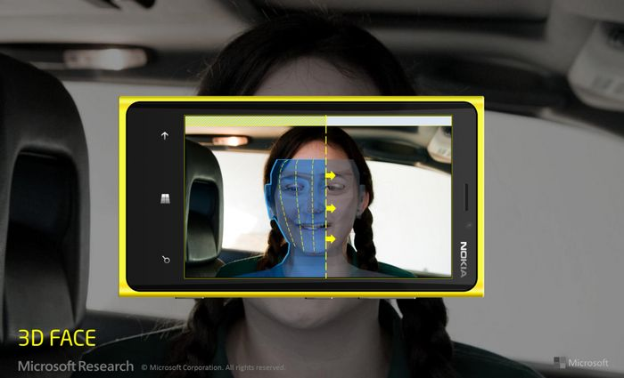 Microsoft превратит смартфоны с Windows Phone в 3D-сканер лиц
