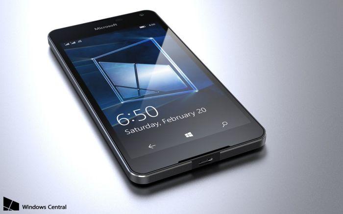 Microsoft Lumia 650 может быть представлен в начале 2016 года