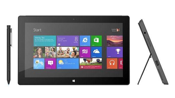 Продажи Microsoft Surface с Windows 8 Pro стартуют в январе