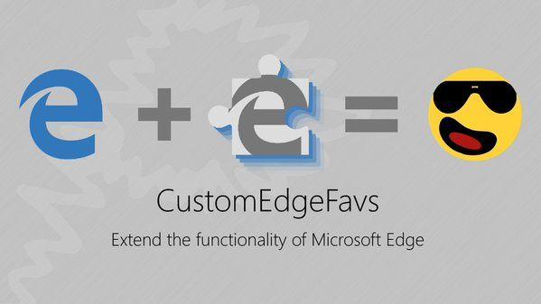 CustomEdgeFavs – программка для редактирования избранного Microsoft Edge