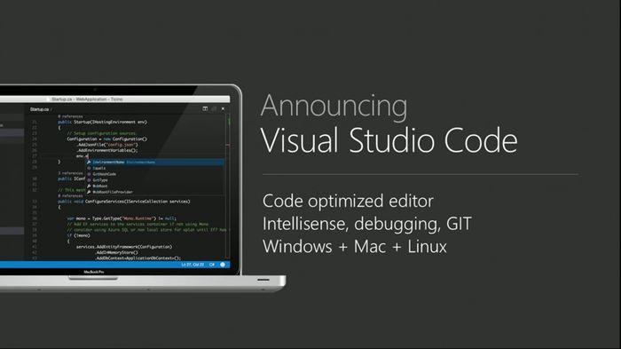 Microsoft анонсировала NET Core preview для Mac и Linux, а также Visual Studio Code для Windows, Linux и Mac
