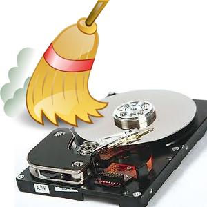 Очистка жесткого диска