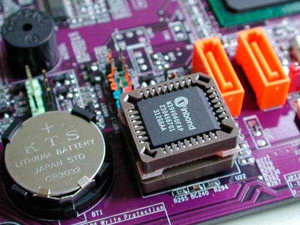 Проверка батарейки BIOS