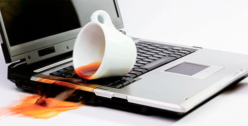 Ремонт клавиатуры после разлива жидкости
