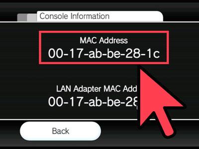 Узнать MAC-адрес сетевой карты