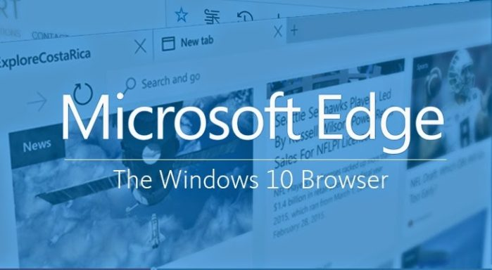 Новый браузер Microsoft Edge имеет собственный движок