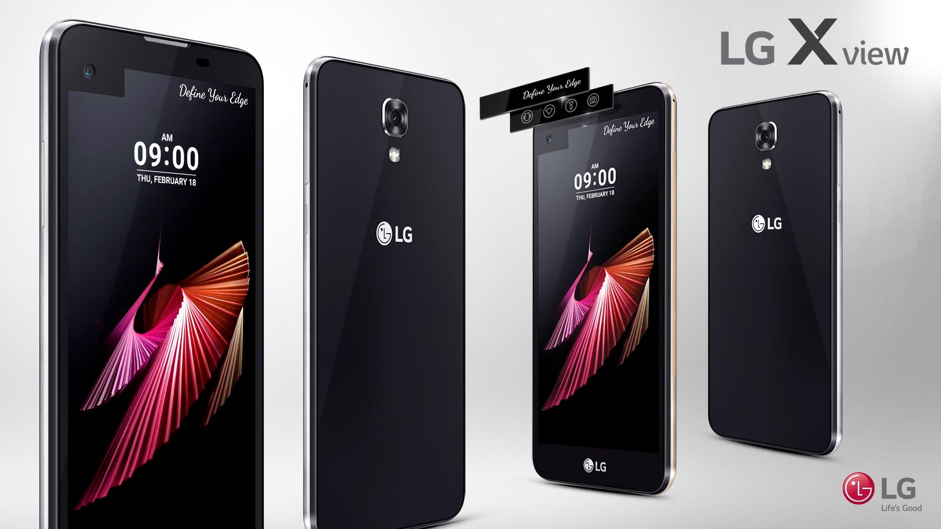 LG X View