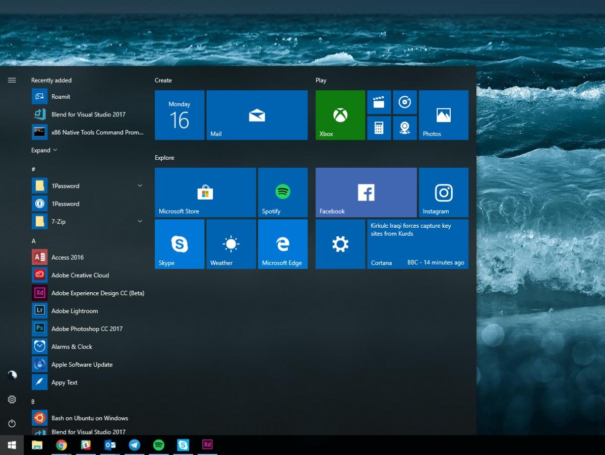 обновление для Windows 10 Spring Creators