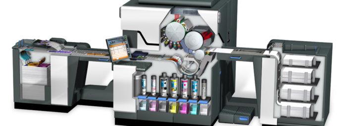 Комплектация печатающего устройства HP Indigo 10000