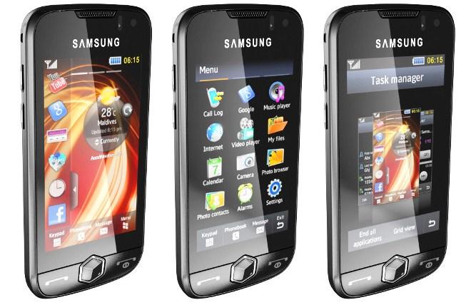 Samsung S8000 Jet - преимущества