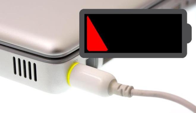 Зарядка аккумулятора на устройстве должна производиться вовремя