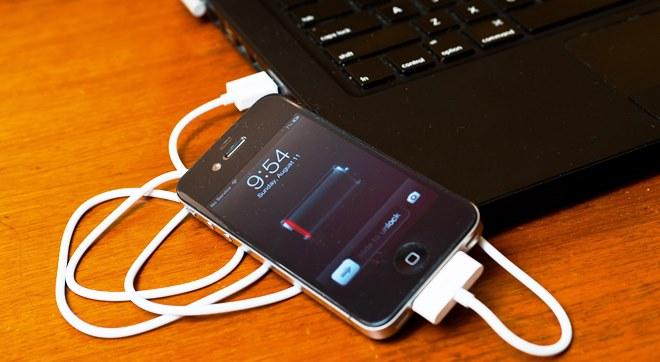 Как зарядить смартфон от ноутбука