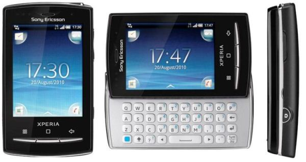 сенсорный экран и клавиатура Sony Ericsson XPERIA X10 Mini